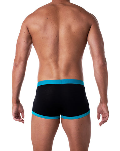Brave Enhancing Trunk - Black/Aqua