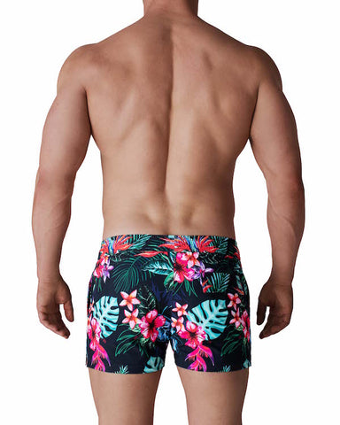 Titan Swim Short - Midnight Tropics