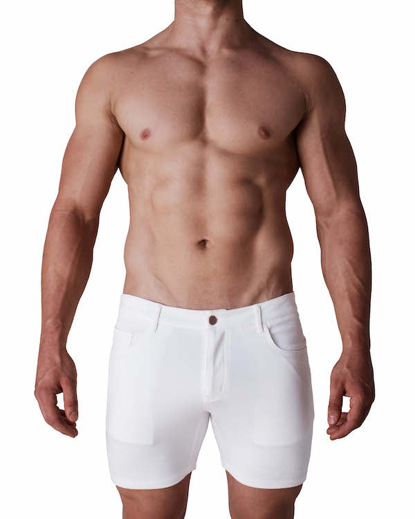 Ithaca Resort Shorts - White