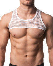 Mesh Harness - White