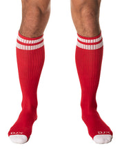 Trough Socks - Red