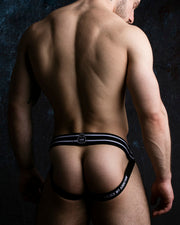 Zippered Jockstrap - White