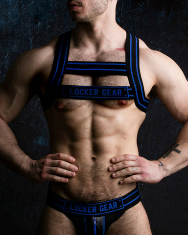 Locker Gear Chest Harness - Blue