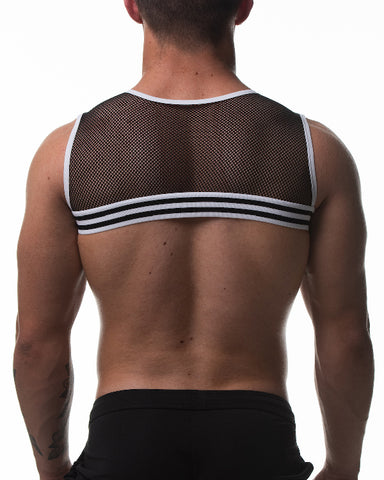 Circuit Mesh Harness - White