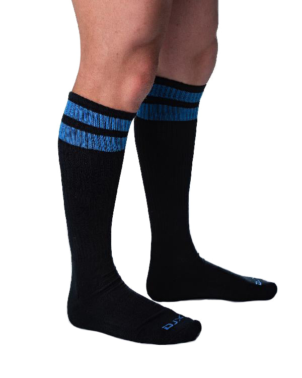 Circuit Sock - Black/Royal