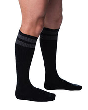 Circuit Socks - Black/Grey