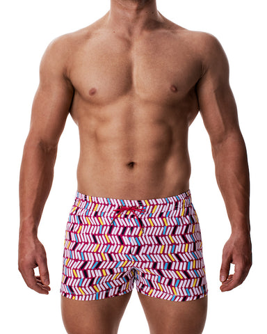 Titan Swim Short - Messy Stack