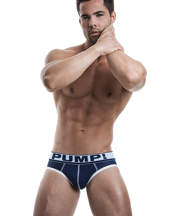 Blue Steel Brief PUMP!