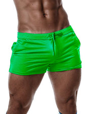 Trough Shorts - Neon Green