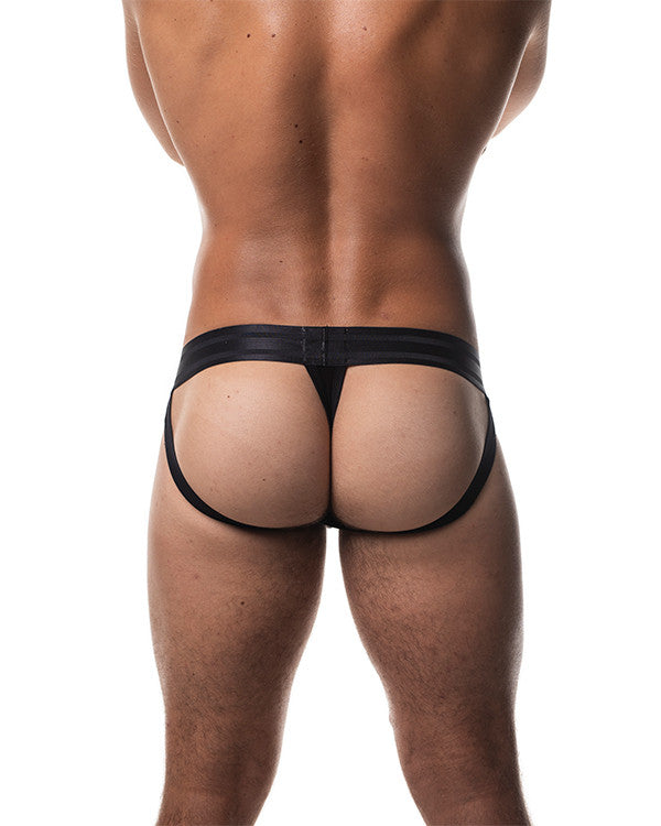 Field Mesh Jock-Thong - Black