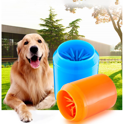 Soft Silicone Portable Pet Paw Cleaner - Trendy Cyborg