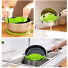 Silicone Colanders Kitchen Clip On - Trendy Cyborg