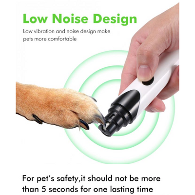 Premium Electric Pet Nail Cutter - Trendy Cyborg