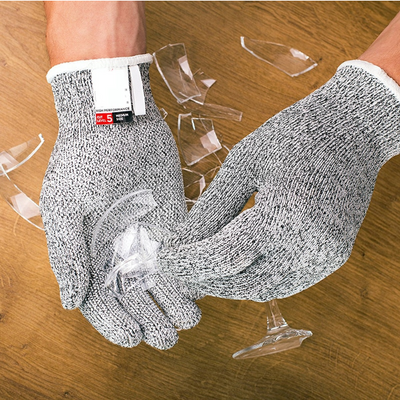 Safety Stainless Steel Wire Anti-Cut Gloves - Trendy Cyborg