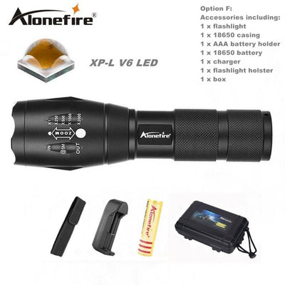 G900 Tactical Military Flashlight - Trendy Cyborg