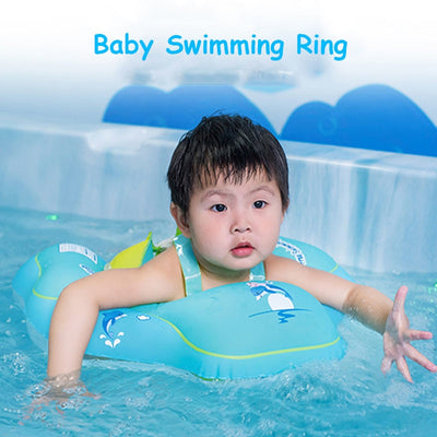 Inflatable Baby Swimming Ring Float - Trendy Cyborg