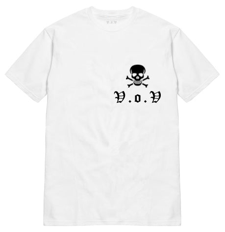 "V.O.V SKULL ""POCKET HIT"" TEE"