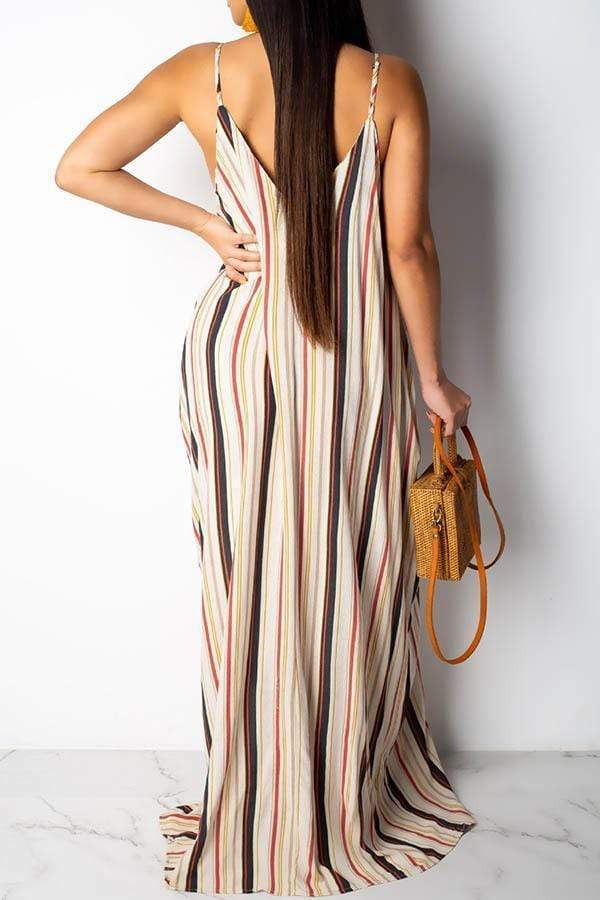 Spaghetti Strap Tent Dress