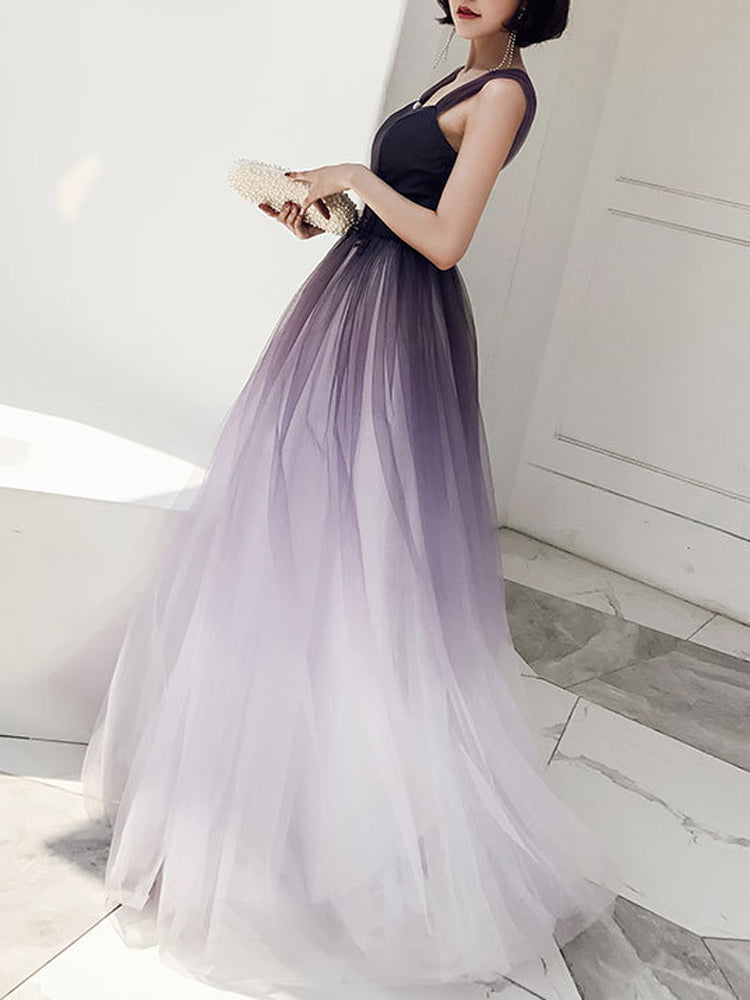 Elegant party bridesmaid formal dress