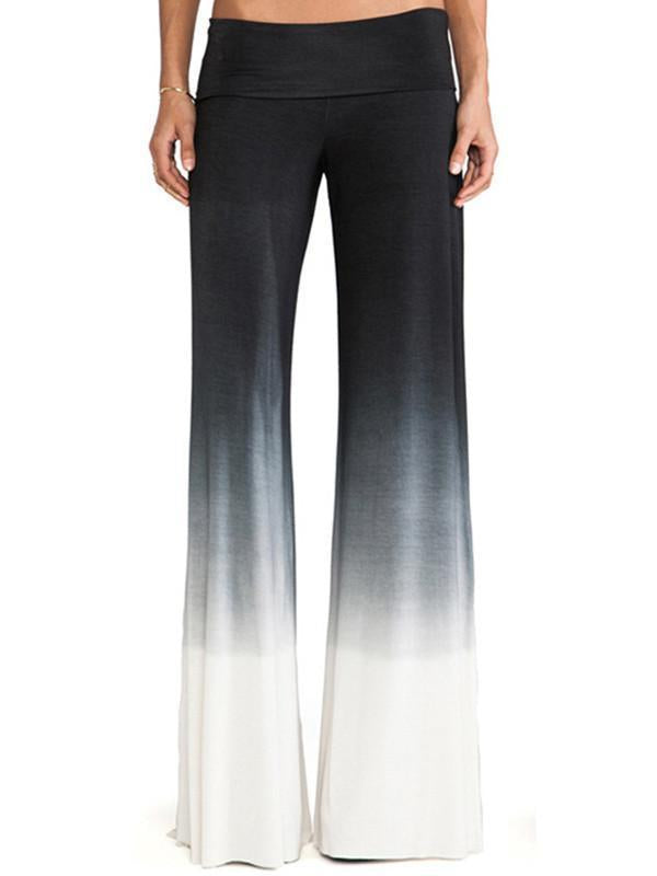 Casual Stitching Trousers Sports Long Pants - sparshine