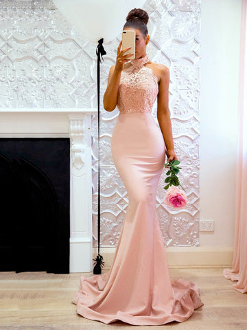 Fancy V-neck Sequins Sleeveless Formal Dress