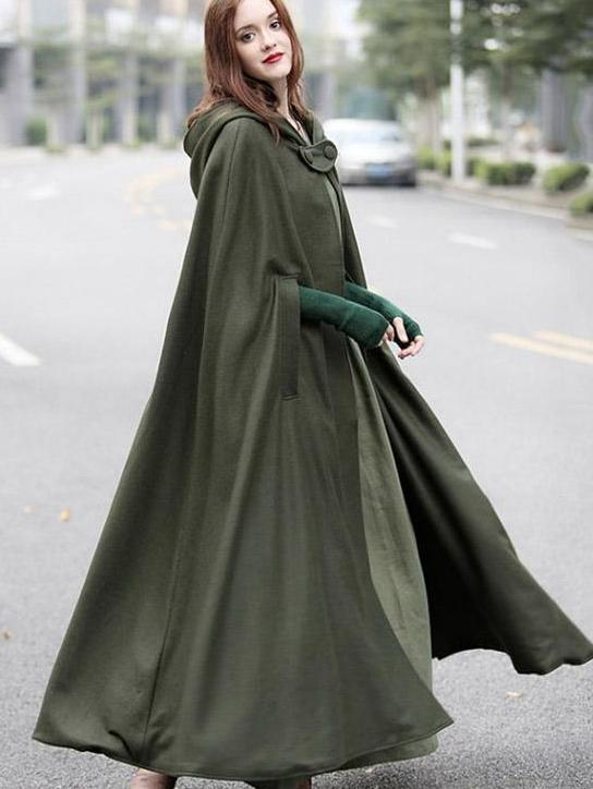 Long Sleeves Winter Women Coat