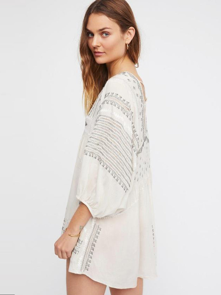 Bohemian Sexy Open Back Dress - sparshine