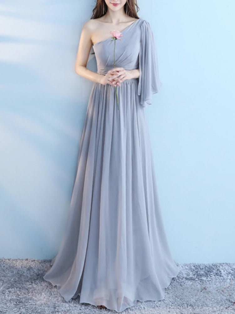 2018 new wedding bridesmaid formal dress