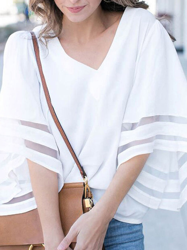 Fashion women' clothing Short Sleeve Summer Fashion Top