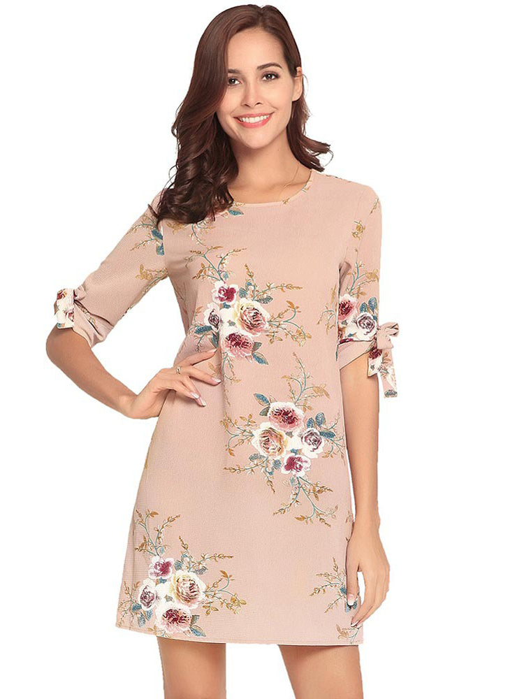 Summer Dress Women Floral Fashion Dress