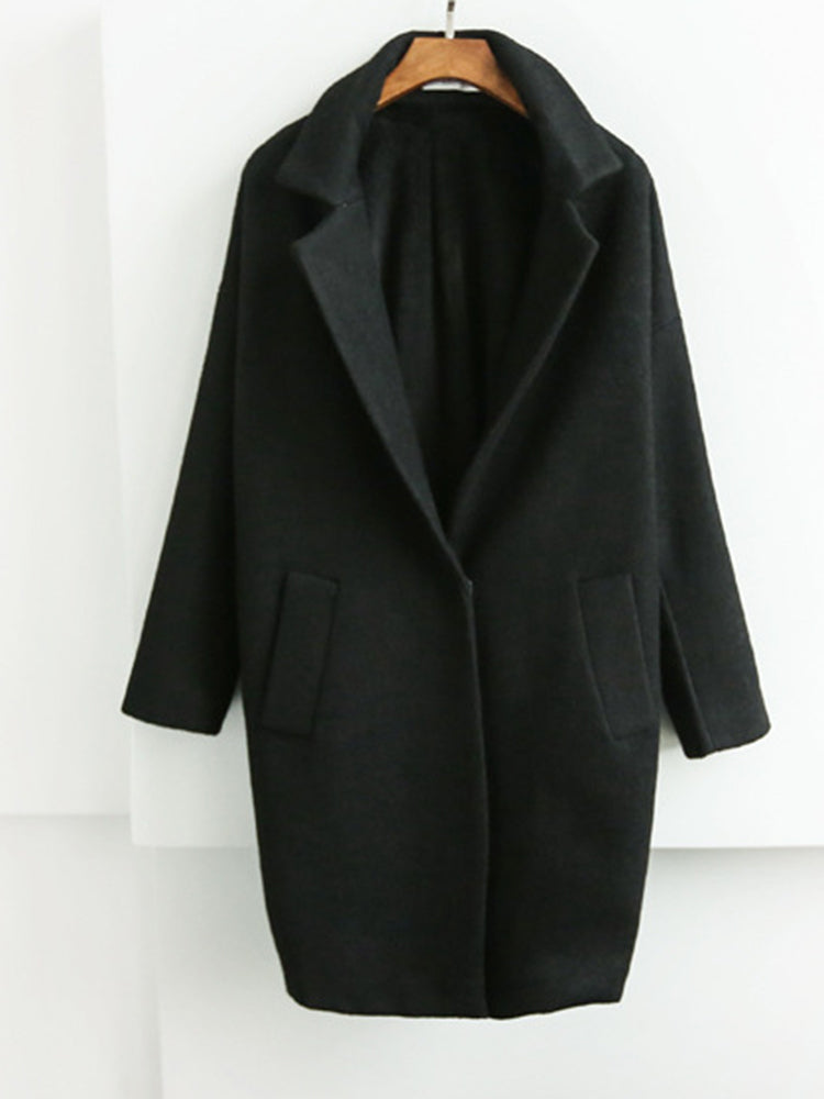 Suit With Pocket Trench Coat