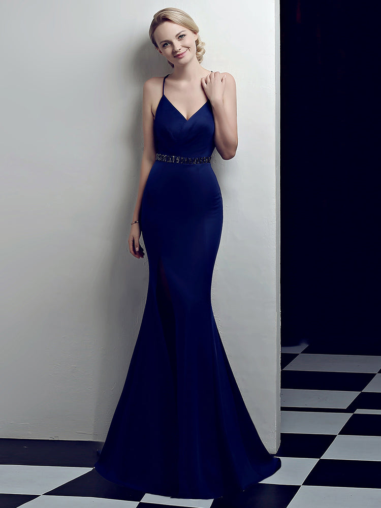 Fancy Sexy Slim Formal Dress