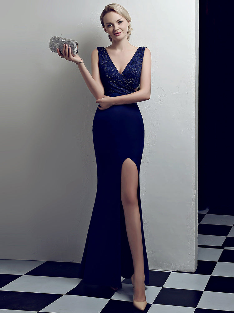 Fancy Sexy Long Fishtail Formal Dress