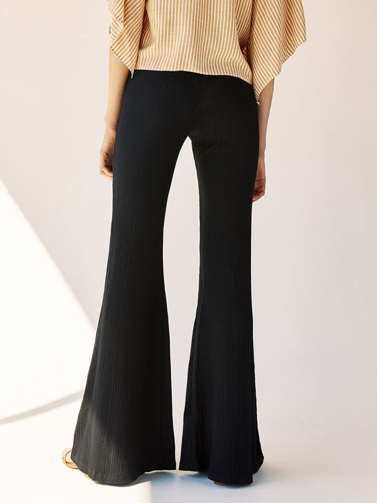 Slim Fit Slim Flared Pants