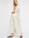 Bohemian Lace Cardigan Long White Coat - sparshine