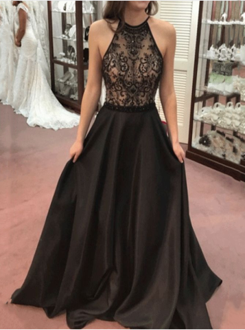 Fancy V-neck Sleeveless Waist Formal Dress
