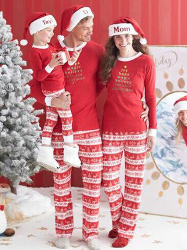 Cotton Family Christmas Look Lovely long sleeeve Suits