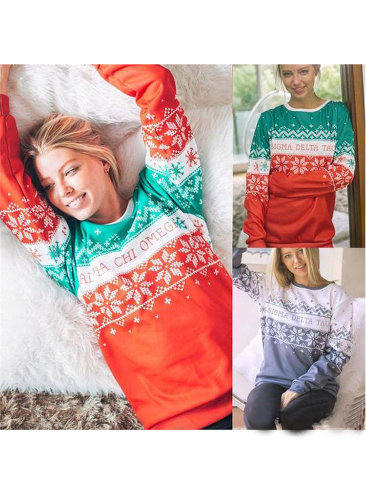 New Santa Claus Xmas Knitted Sweater Ugly Christmas Sweaters