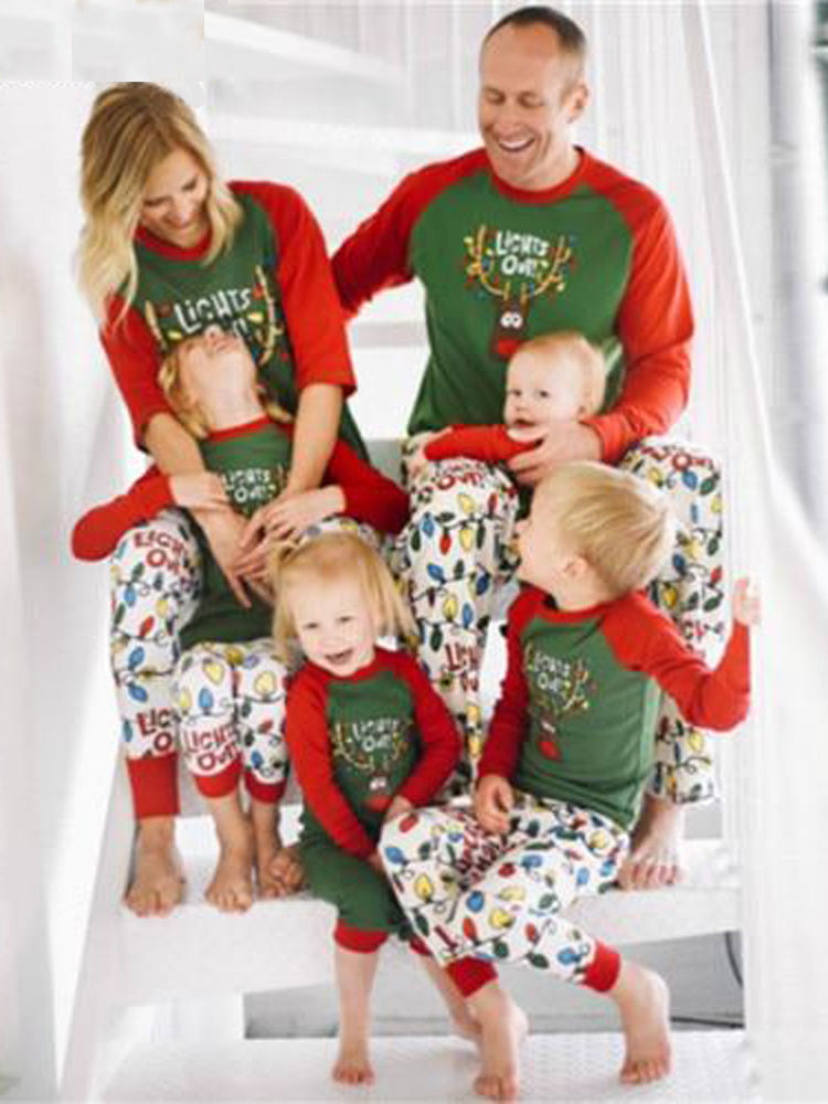 Christmas Family Round Neck Long Sleeve shirts