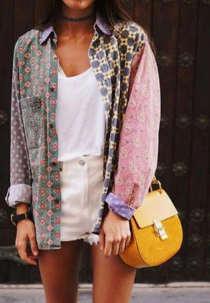 VIOLET button jacket
