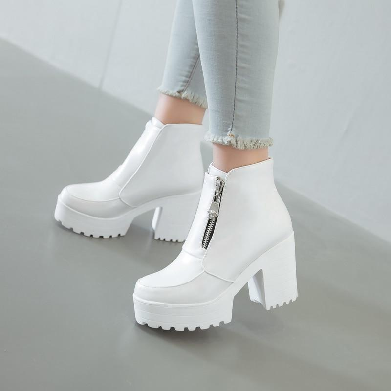 EVIE beauty zipper boots