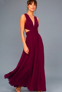 LAKISHA vivid maxi dress