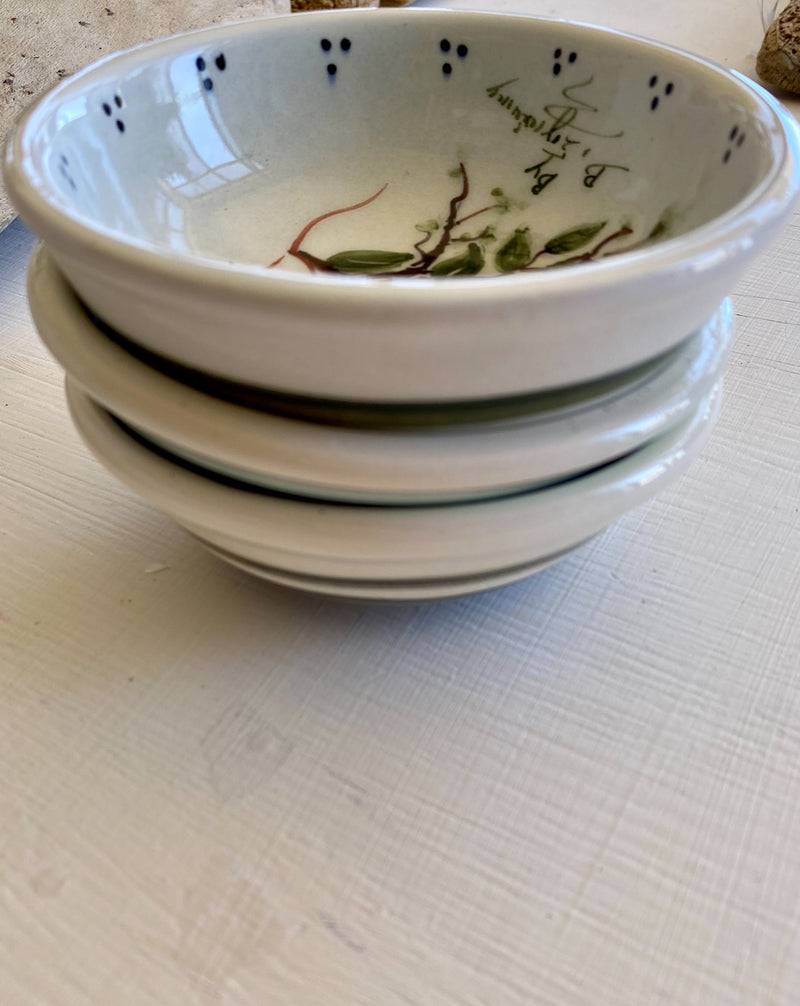 Small Ceramic Bowls with Olives
