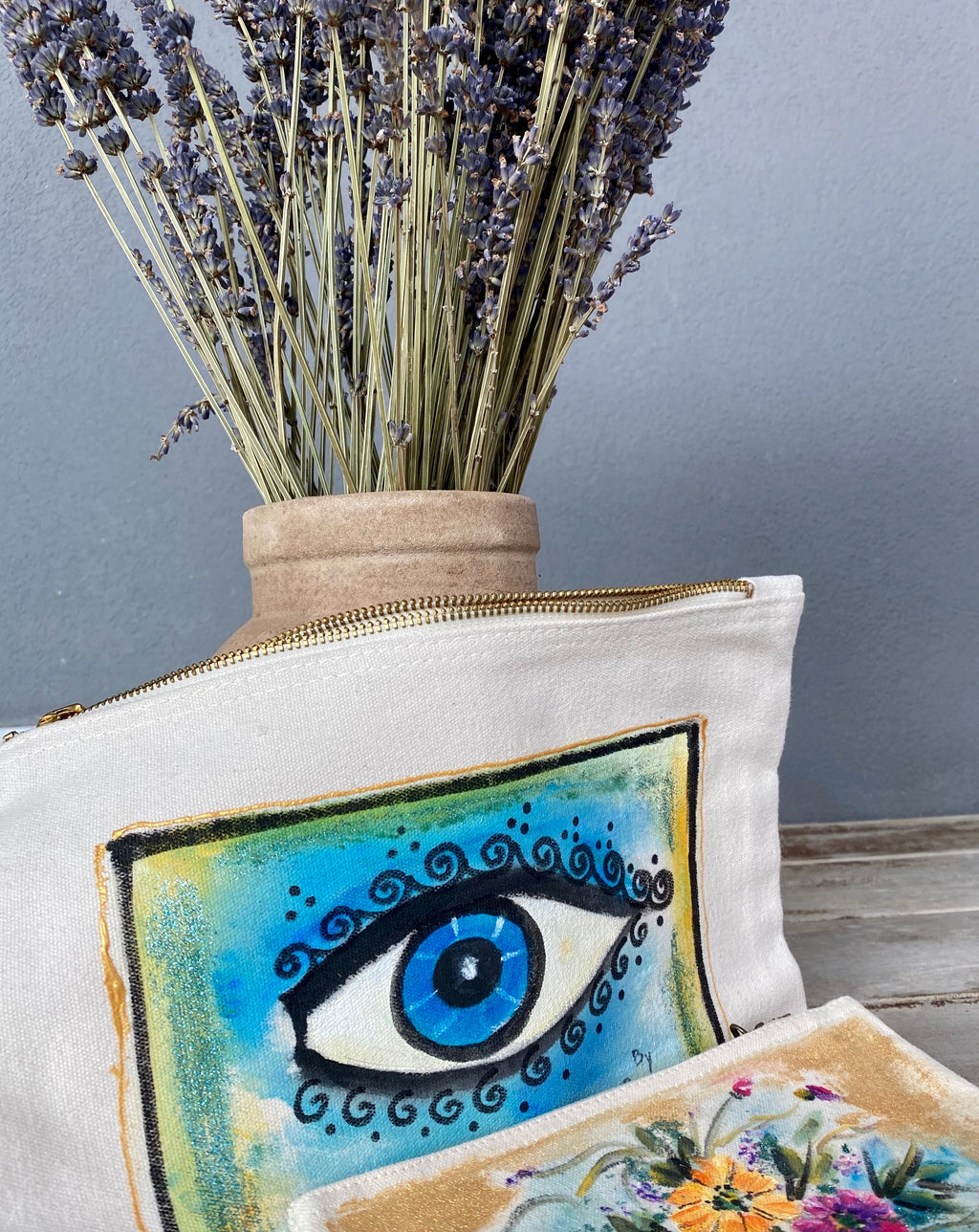 hand-painted bag