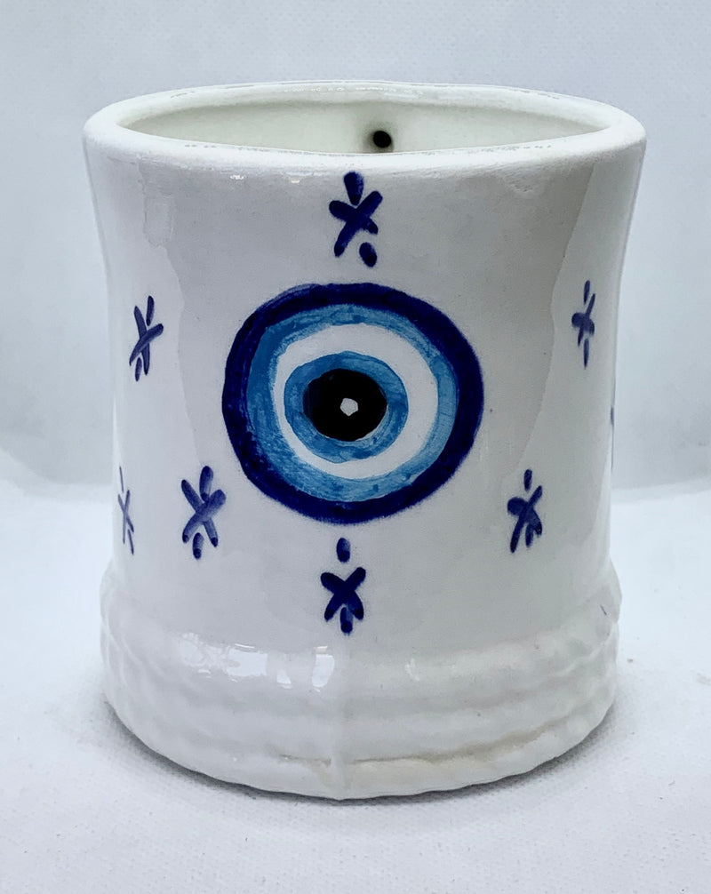 Evil Eye Handmade Ceramic Mug