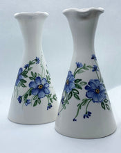 Load image into Gallery viewer, White Ceramic Vase with Flowers