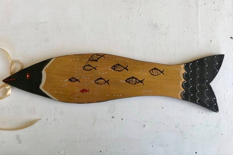Black and Gold Decorative Fish