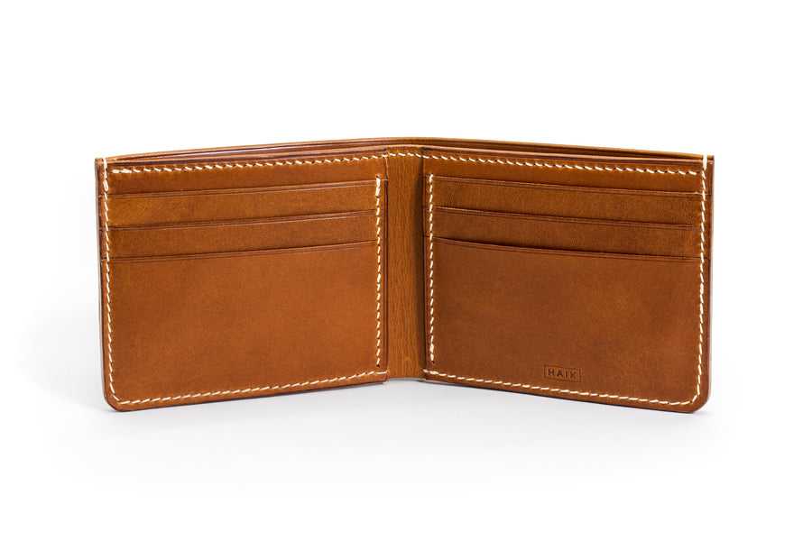 Bifold Wallet - (Whiskey)