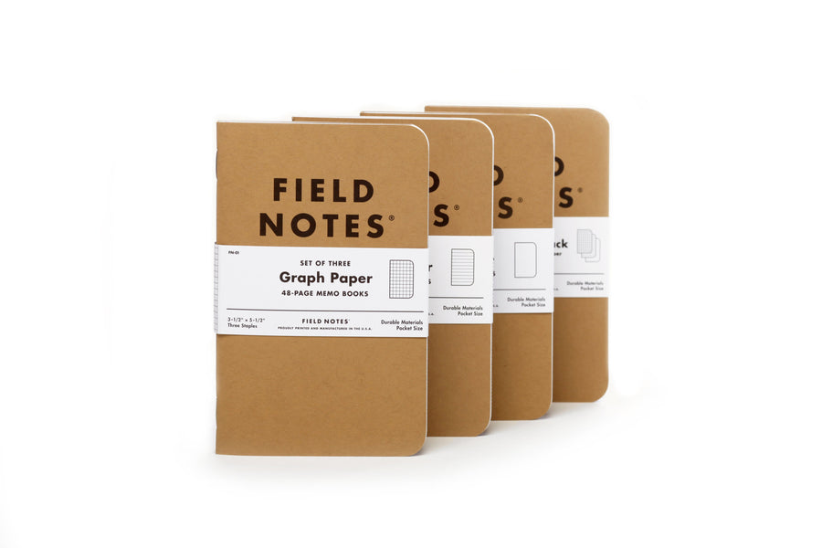 Field Notes Memo Book - 3-Pack