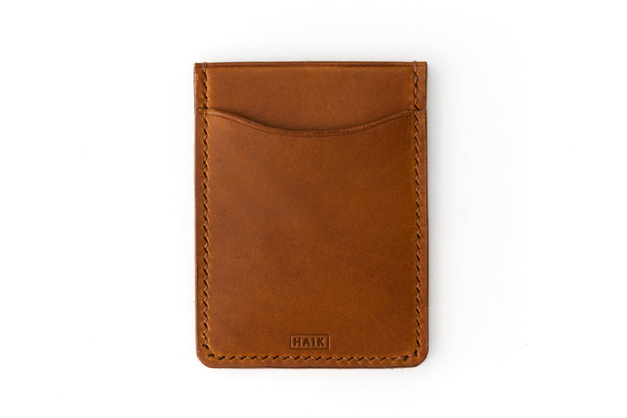 Leather Wallet - Card Holder - (Whiskey Buttero)